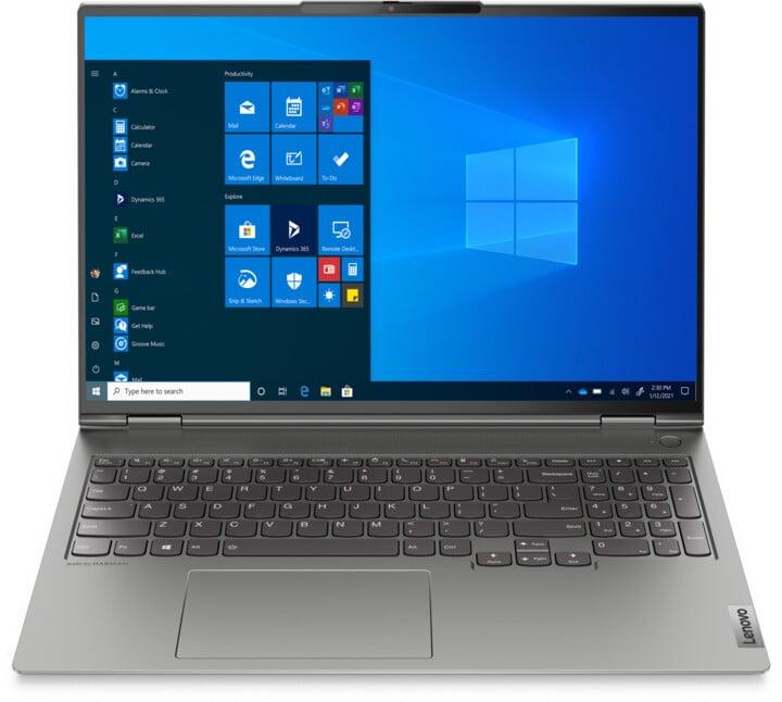 Lenovo ThinkBook 16p G2 ACH, šedá
