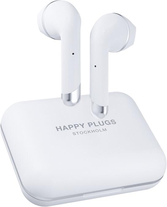 Happy Plugs Air 1 Plus, bílá