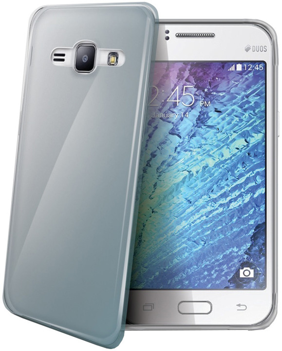 CELLY Gelskin pouzdro pro Samsung Galaxy J1 (2015), bezbarvé