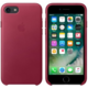 Apple iPhone 7 Leather Case, Berry