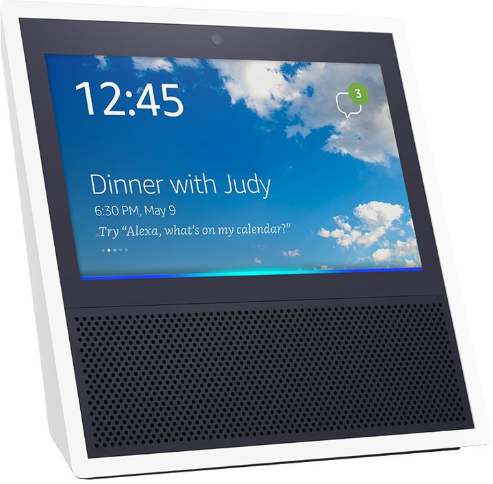 Amazon Echo Show, bílá