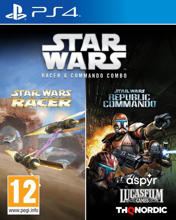 Star Wars Racer & Commando Combo (PS4)