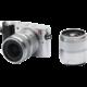 Yi M1 + 12-40mm + 42.5mm f/1.8, stříbrná