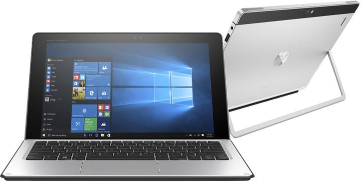 HP Elite x2 1012 G1, stříbrná