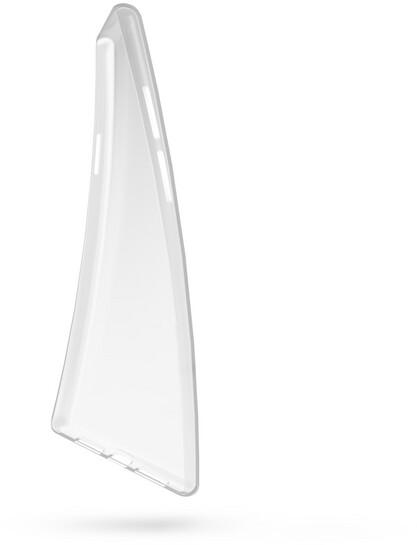 EPICO plastový kryt RONNY GLOSS pro Realme X50, bílá transparentní