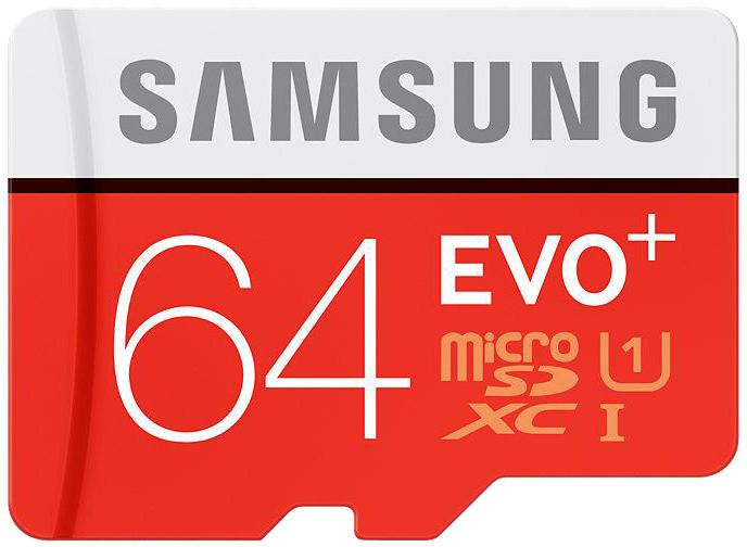 Samsung Micro SDXC EVO+ 64GB UHS-I + SD adaptér