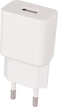 Setty síťová nabíječka, bílá + kabel Lightning, 1m, bílá
