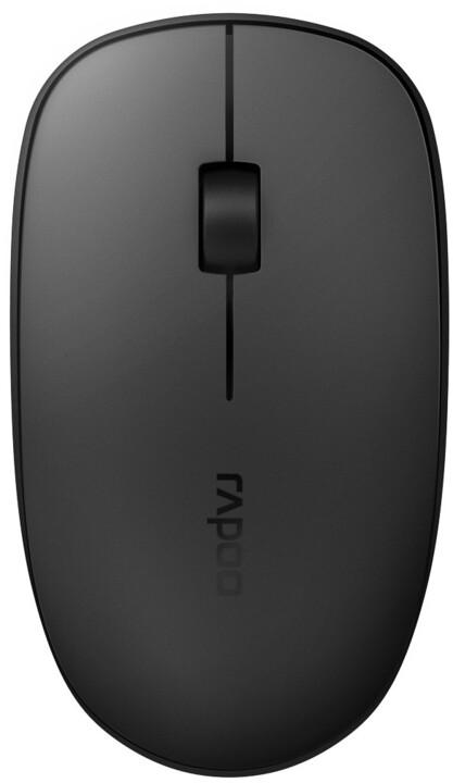Rapoo M200 Silent, černá