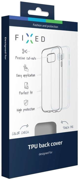 FIXED gelové pouzdro pro LG K8 (K350), bezbarvá
