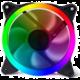 Evolveo 12RR, RGB ring, kontrolní, 120mm