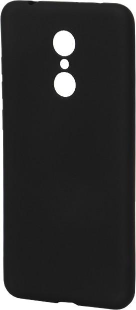 EPICO Pružný plastový kryt pro Xiaomi Redmi 5 SILICONE FROST - černý
