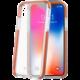 CELLY Hexagon Zadní kryt pro Apple iPhone X, oranžové