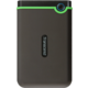 Transcend StoreJet 25M3S - 2TB, šedo/zelený