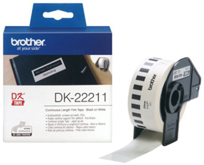 Brother DK-22211 (bílá filmová role)