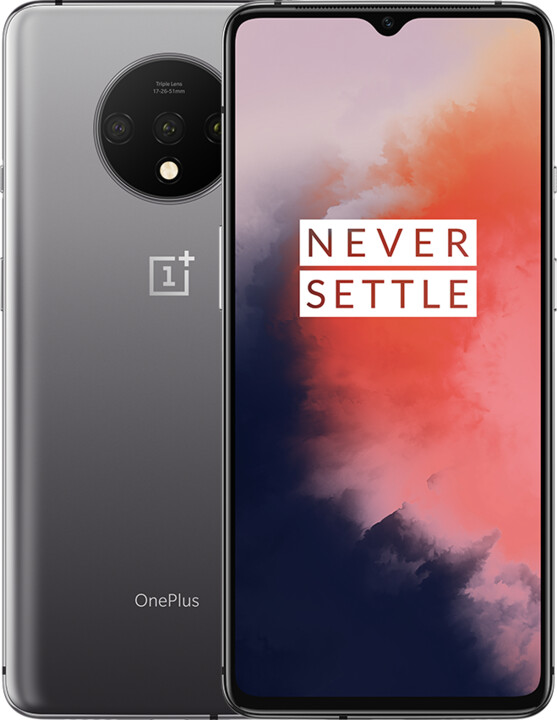 OnePlus 7T, 8GB/128GB, Frosted Silver