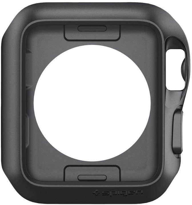Spigen Slim Armor rámeček na Apple Watch 3/2/1 42mm, šedý