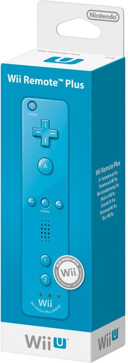 Nintendo Remote Plus, modrá (WiiU)