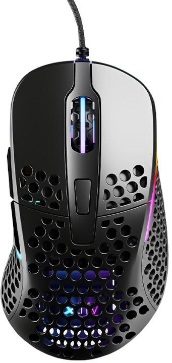Xtrfy M4 RGB, černá