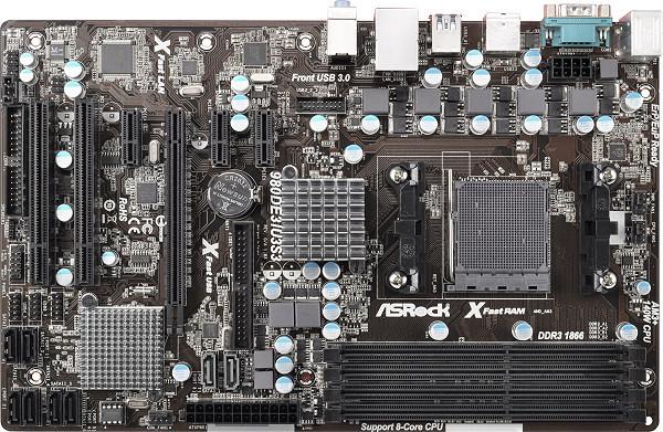 ASRock 980DE3/U3S3 - AMD 760G