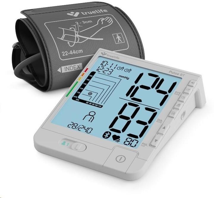 TrueLife tonometr/měřič krevního tlaku Pulse BT