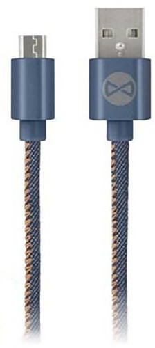 Forever datový kabel TFO MICRO USB, JEANS (TFO-N)