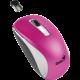 Genius NX-7010, bezdrátová, bílá/růžová