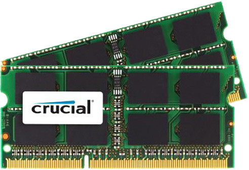 Crucial 8GB 2x4GB DDR3 1066 SO-DIMM pro Apple/Mac
