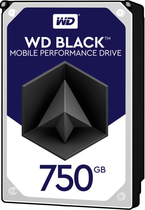 WD Black (BPKX) - 750GB