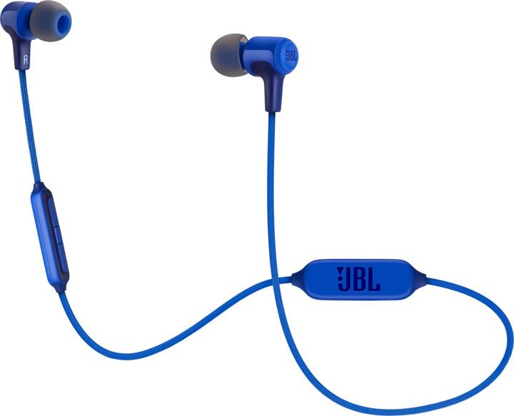 JBL E25BT, modrá