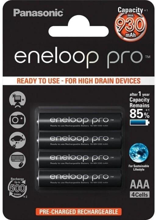 Panasonic 4HCDE/4BE ENELOOP PRO AAA 4x