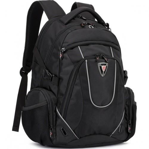 SUMDEX RED(S) batoh pro notebok BP-304BK, černý