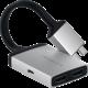 Satechi TYPE-C Dual HDMI Adapter, stříbrná
