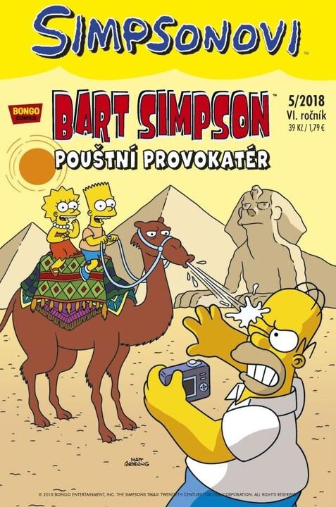 Komiks Bart Simpson: Pouštní provokatér, 5/2018
