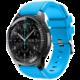 ESES silikonový řemínek pro Samsung Galaxy Watch 46mm/ Samsung Gear S3, modrá