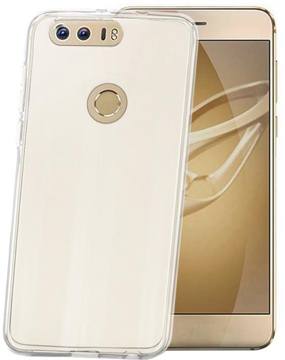 CELLY Gelskin TPU pouzdro pro Huawei Honor 8, bezbarvé