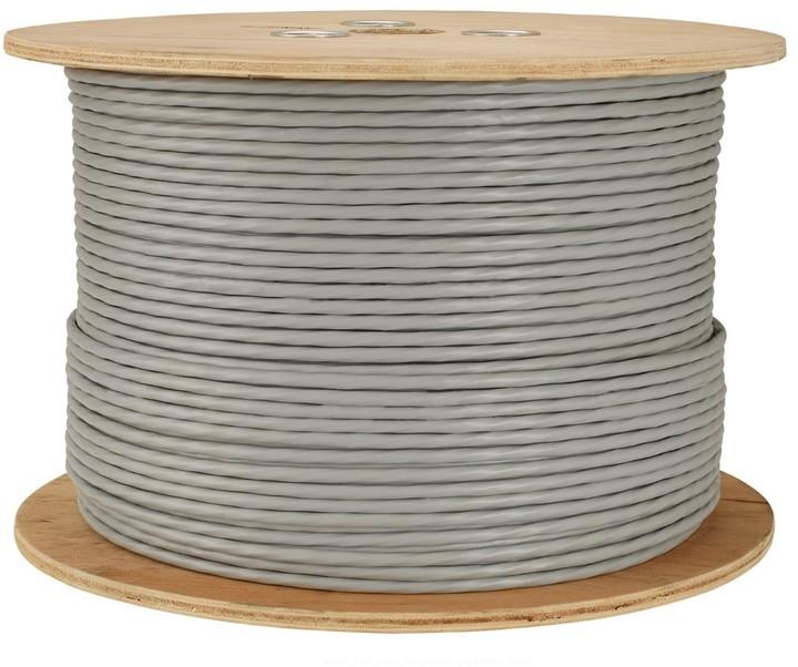 Solarix instalační kabel CAT6 FTP PVC E 500m/cívka