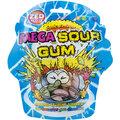 Mega Sour Gum Buttons, žvýkačka, kyselá, 47g