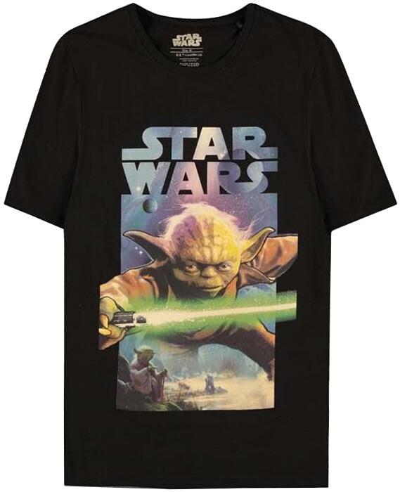 Tričko Star Wars - Yoda Poster (XL)