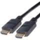 PremiumCord HDMI 2.0 High Speed + Ethernet kabel, zlacené konektory, 0,5m