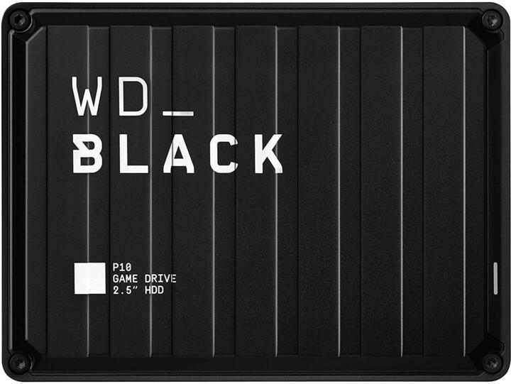 WD BLACK P10 - 4TB, černá