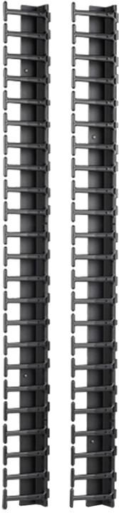APC Vertical Cable Manager pro NetShelter SX 600mm velikost 48U (2ks)