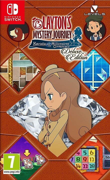 Laytons Mystery Journey: Katrielle and the Millionaires Conspiracy - Deluxe Edition (SWITCH)