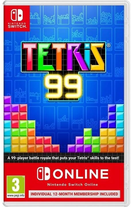 Tetris 99 + 12 měsíců Nintendo Online (SWITCH)