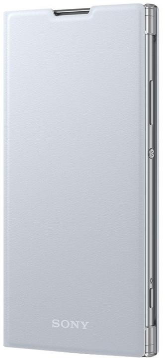 Sony Style Cover Flip pro Xperia XA2, stříbrná