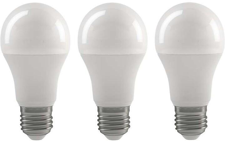 Emos LED žárovka Classic A60 9W E27 3ks, teplá bílá
