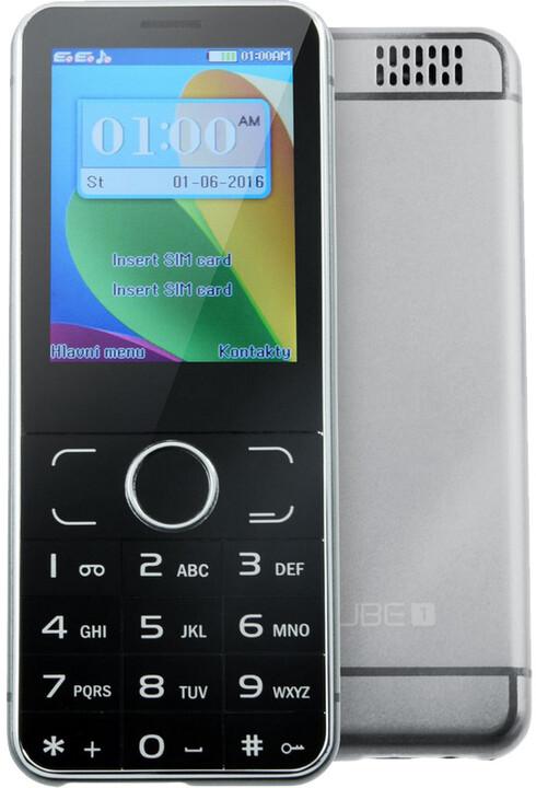 Cube 1 F200, šedá
