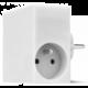 USBEPower HIDE Power Hub charger 3USB/2plugs, bílá