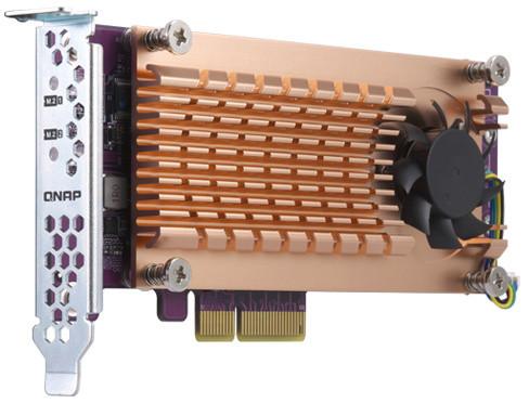 QNAP QM2-2P-344 - Duální rozšiřující karta pro disky SSD M.2 22110/2280 PCIe (Gen3 x4)