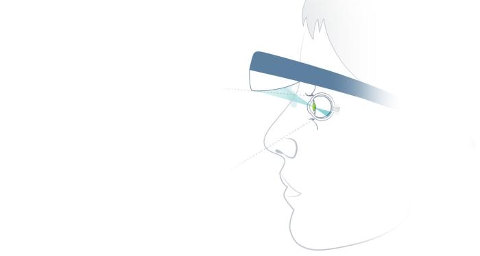 Správné nasazení brýli.