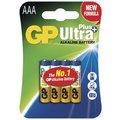 GP AAA Ultra Plus, alkalická 4ks